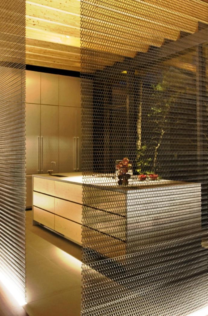 modern glass wall wooden house (10)