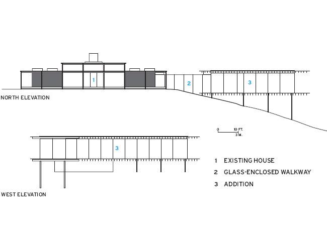 modern glass wall wooden house (17)