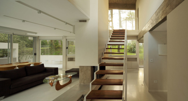 modern house with pool concrete in argentina (13)
