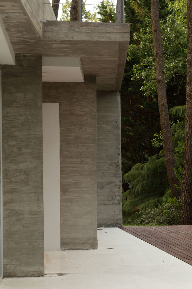 modern house with pool concrete in argentina (7)