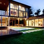 บ้านแบบโมเดิร์น สร้างพื้นที่พักผ่อนอันเป็นธรรมชาติ ผสมผสานวัสดุต่างๆให้โดดเด่นทันสมัย