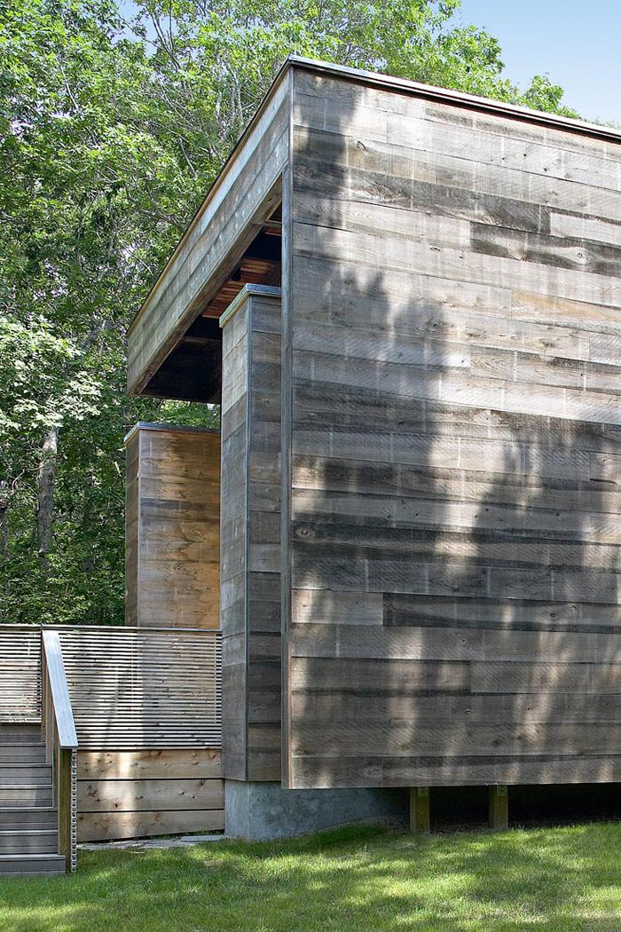 modern loft wooden box house in forest (6)