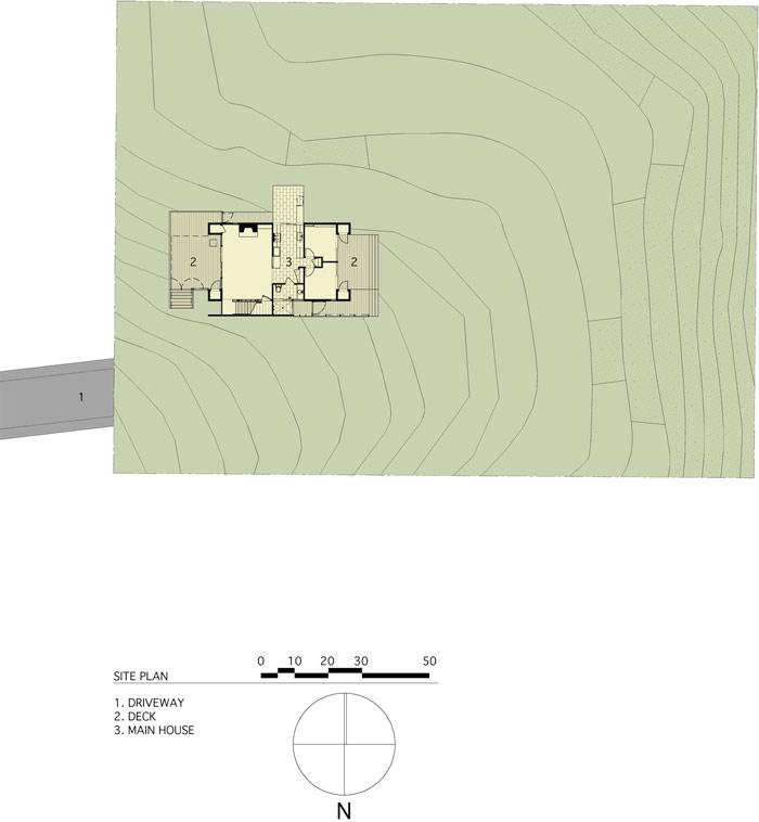 modern loft wooden box house in forest (8)