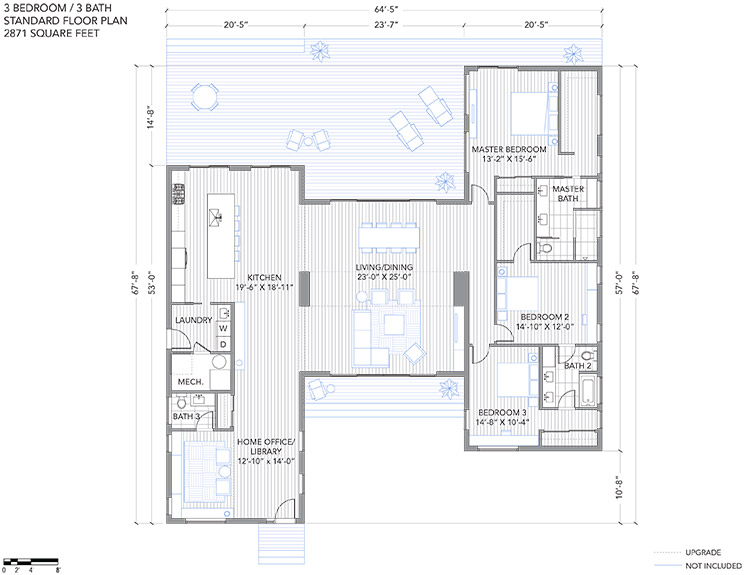 modern one half storey house 3 bedrooms (15)