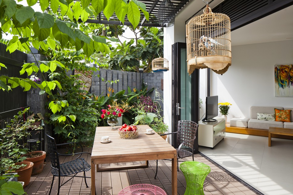modern tropical house style with green natural in vietnam (4)