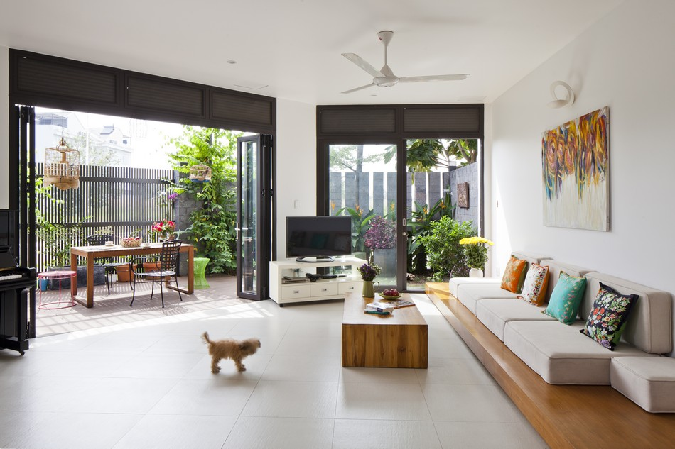 modern tropical house style with green natural in vietnam (5)