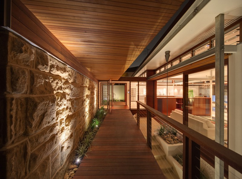 modern vacation house with garden and pool sydney (3)