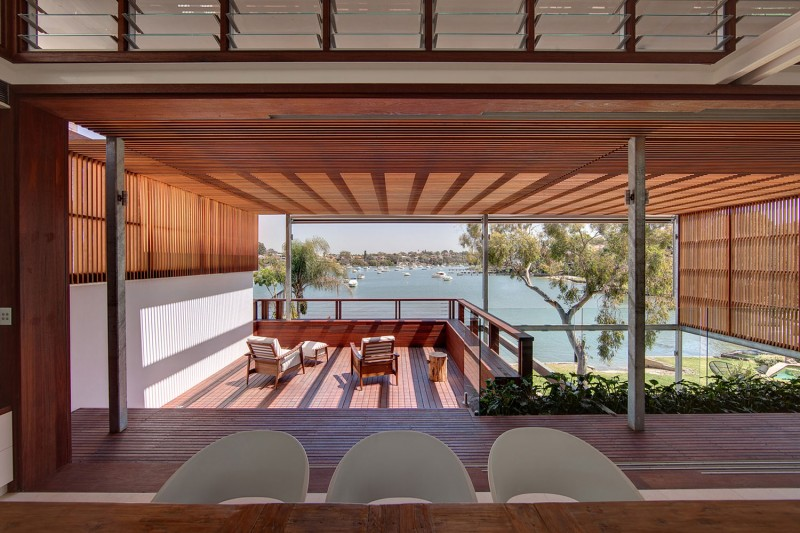 modern vacation house with garden and pool sydney (5)