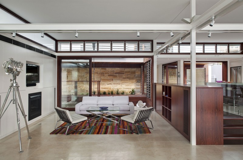 modern vacation house with garden and pool sydney (6)