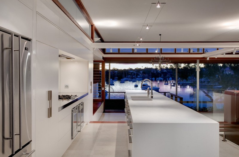modern vacation house with garden and pool sydney (7)