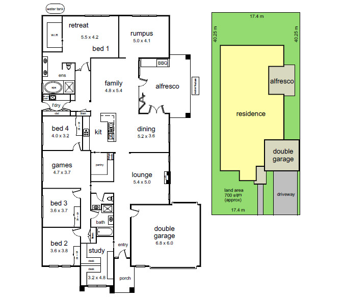 one storey contemporary resident for family (13)