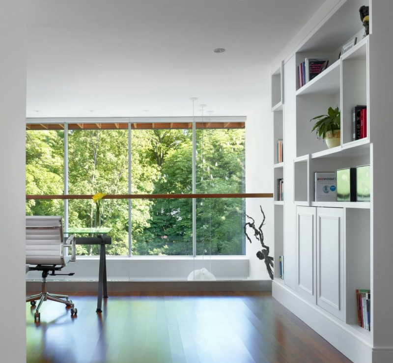 renovate old colonial townhouse to modern loft (10)