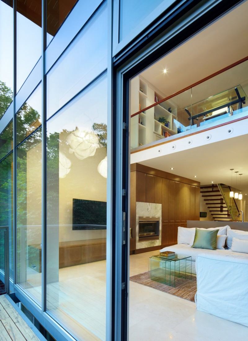 renovate old colonial townhouse to modern loft (2)