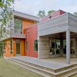 บ้านสองชั้นบนแนวคิดประหยัดพลังงาน ตกแต่งดูโล่งโปร่งสบาย สำหรับชีวิตแห่งอนาคต