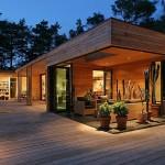 บ้านไม้ชั้นเดียว ออกแบบอย่างเรียบสวย คำนึงถึงการใช้งานและความสบายของผู้อยู่