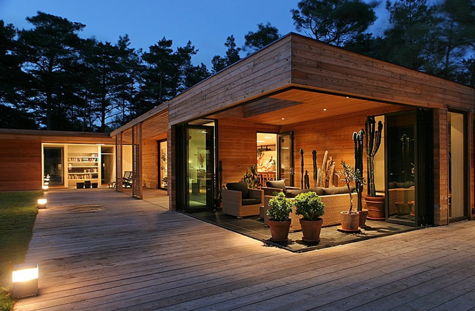 swedish wooden house for new family to live warm and happy (1)