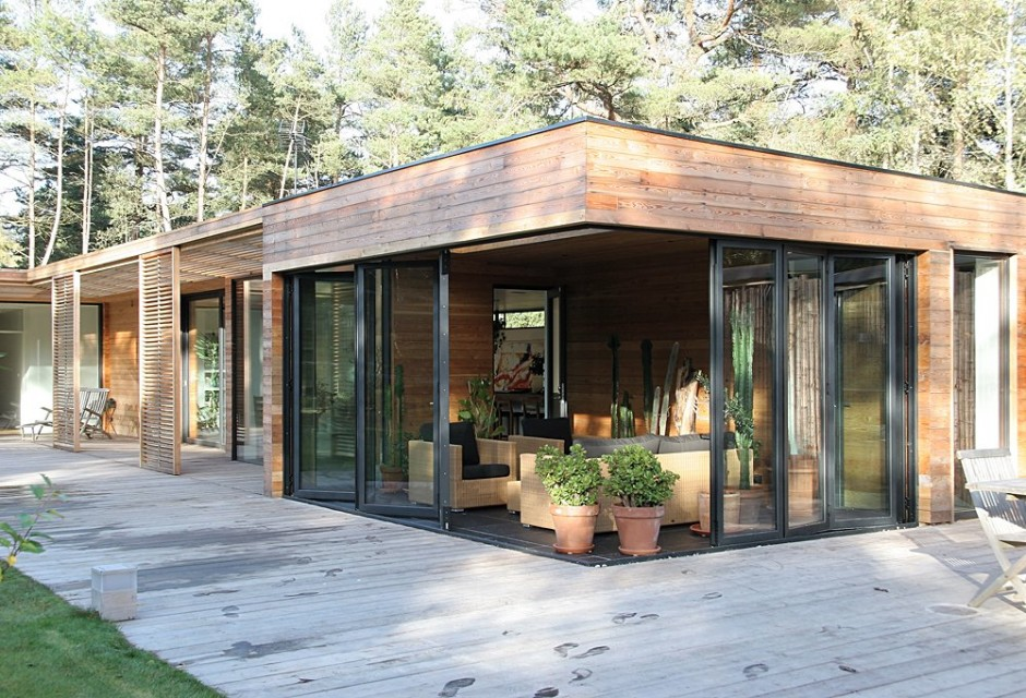 swedish wooden house for new family to live warm and happy (2)