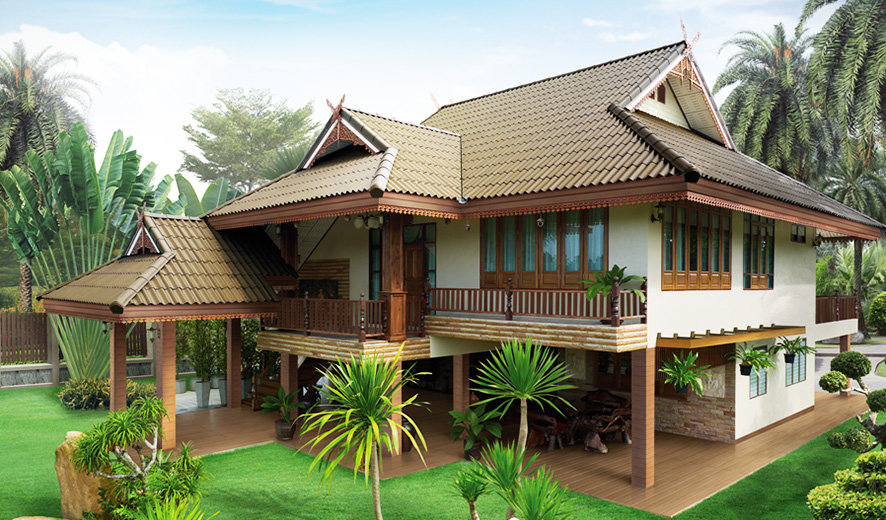 for Thai modern house style