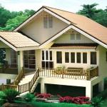 แบบบ้านยกพื้นสูง 2 ห้องนอน ออกแบบทรงไทยประยุกต์ ให้อยู่สบายเหมาะกับอากาศเมืองไทย