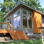บ้านกระท่อมหลังเล็กๆ แนวโมเดิร์นคอมแพ็ค รองรับชีวิตคนรุ่นใหม่ที่มีงบประมาณจำกัด