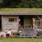 บ้านกระท่อมหลังจิ๋วออกแบบน่ารักพอเพียง ปลูกพืชคลุมหลังคา ลดโลกร้อน-ประหยัดพลังงาน