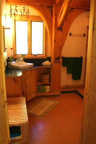vacation house eco cottage to save the earth (9)