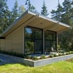 บ้านตากอากาศแนวโมเดิร์น เปิดโล่งรับชมวิวรอบทิศทาง เพื่อการพักผ่อนอย่างเต็มรูปแบบ