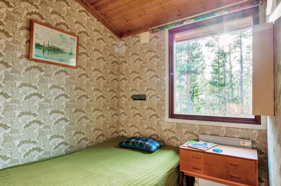 wooden cottage country house one storey two bedrooms (10)