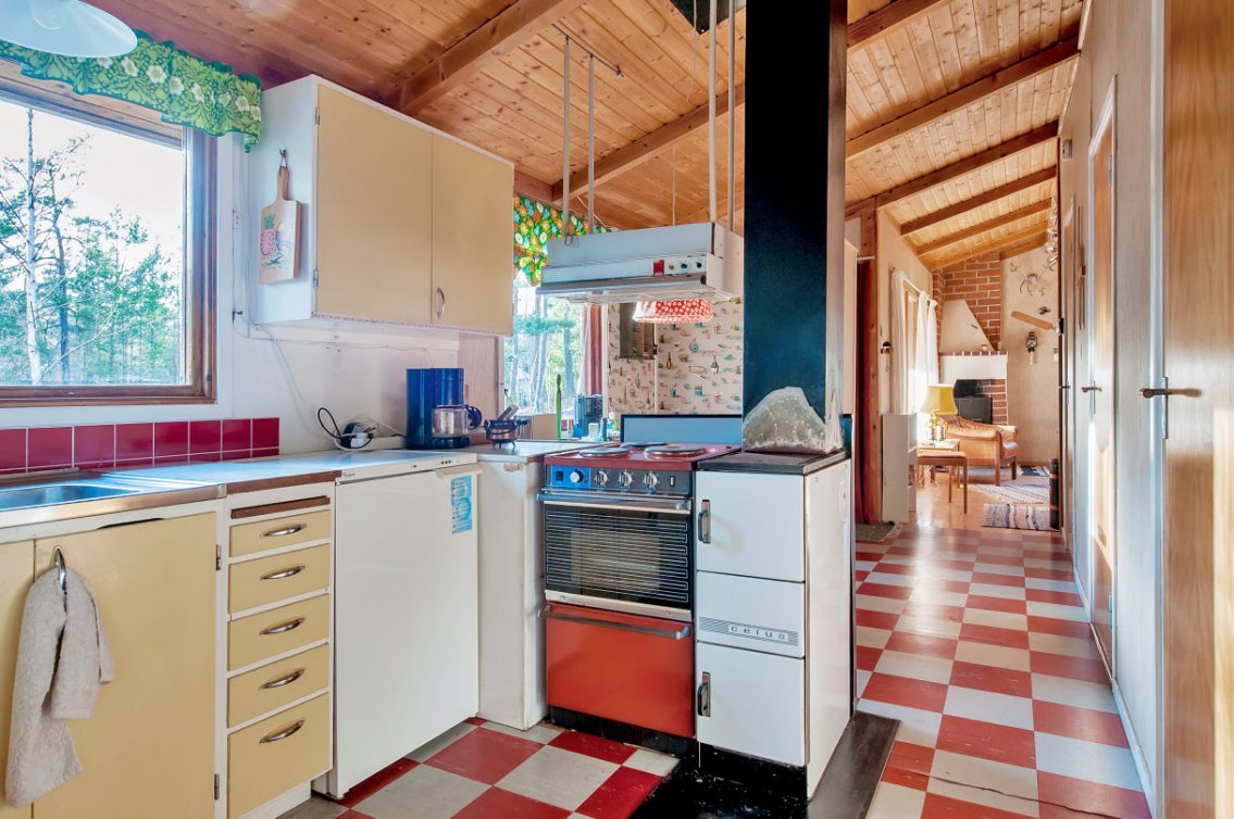 wooden cottage country house one storey two bedrooms (11)
