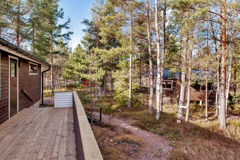 wooden cottage country house one storey two bedrooms (16)