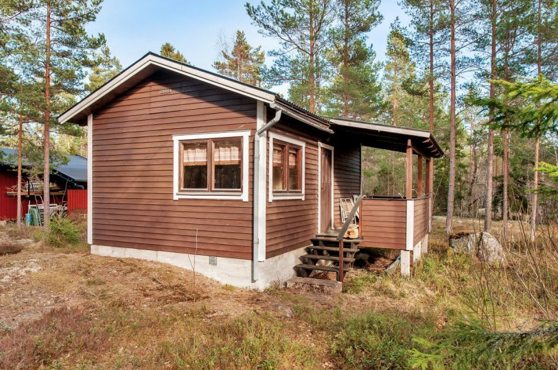 wooden cottage country house one storey two bedrooms (3)