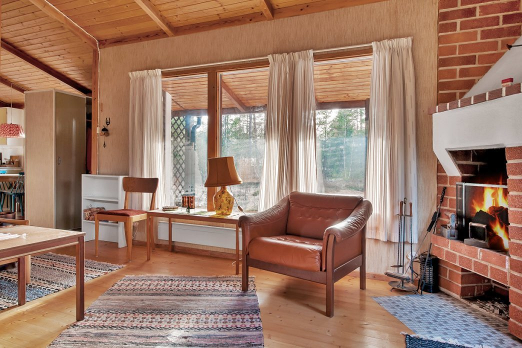 wooden cottage country house one storey two bedrooms (6)
