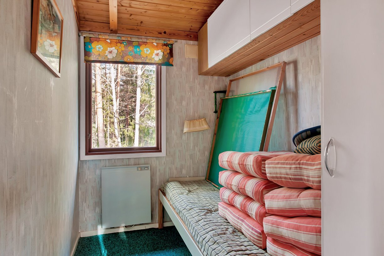 wooden cottage country house one storey two bedrooms (9)