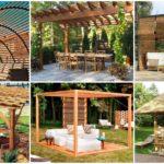 """35 ไอเดีย """"ซุ้มไม้"""" สำหรับสร้างไว้เป็นที่พักผ่อนสบายๆ ภายในสวนของเรา"""