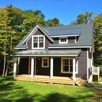 แบบบ้านกระท่อมไม้แนวอเมริกันคันทรี เรียบง่ายเสริมความอบอุ่น ให้อยู่อย่างเป็นสุข