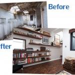 สุดยอดไอเดีย เปลี่ยนห้องน้ำสาธารณะสุดโทรม กลายเป็นบ้านสวยงามและน่าอยู่