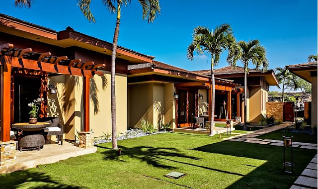 boutique villa resort style house with pool and garden in hawaii (4)
