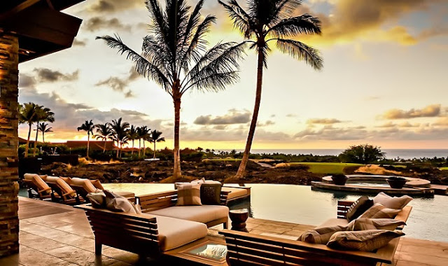 boutique villa resort style house with pool and garden in hawaii (7)