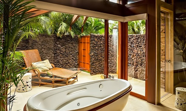 boutique villa resort style house with pool and garden in hawaii (8)