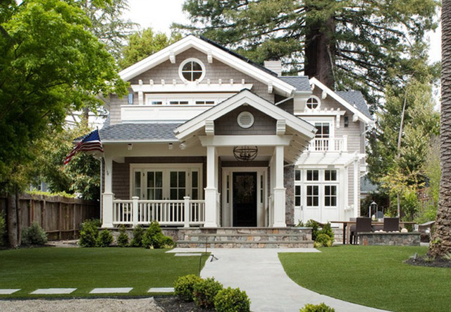 classical cottage house with vintage interior design in california (1)