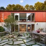 ไอเดียบ้านสองชั้นจากตู้คอนเทนเนอร์ นำมาตกแต่งภายในใหม่ ให้สวยงามและโล่งสบาย