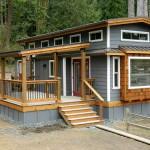 แบบบ้านกระท่อมไม้สองชั้น บนพื้นที่ใช้งานขนาดเล็ก สำหรับคนงบประมาณจำกัด