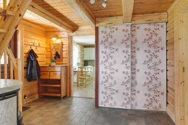 cottage eco wooden log house in sweden (9)