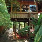 แบบบ้านกระท่อมแนวดั้งเดิม ออกแบบทรงใต้ถุน พร้อมบรรยากาศร่มรื่นเป็นธรรมชาติ