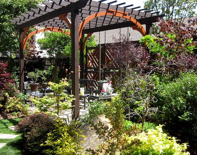 garden idea wooden decoration (12)