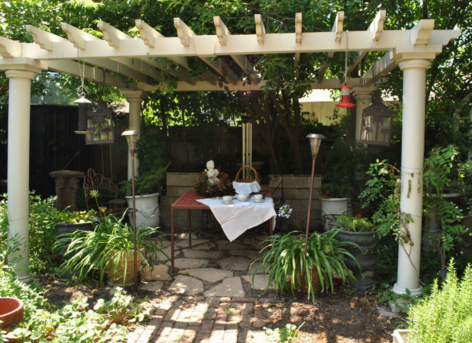 garden idea wooden decoration (13)