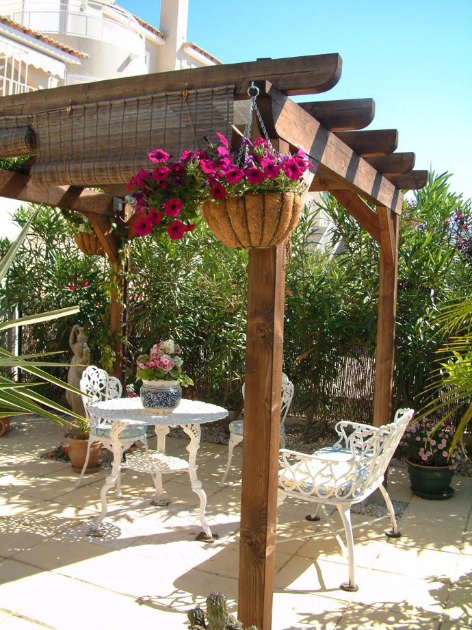 garden idea wooden decoration (2)