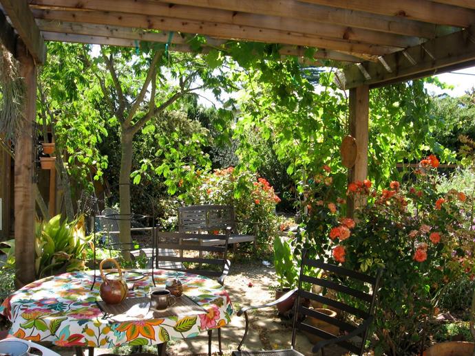 garden idea wooden decoration (23)