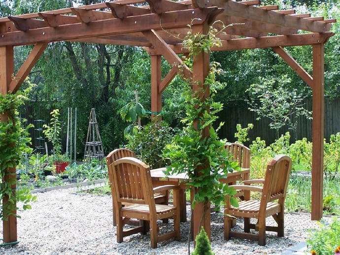 garden idea wooden decoration (32)