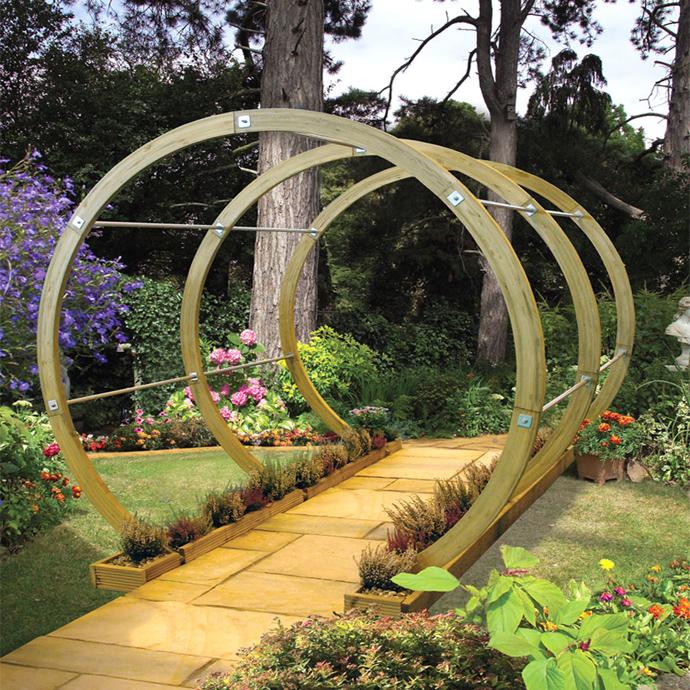 garden idea wooden decoration (7)